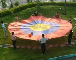 Parachute - Concentric Target