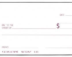 Giant Presentation Cheque