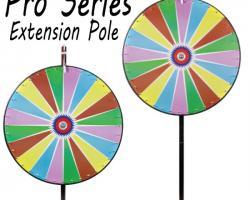 36 Inch Dry Erase Colour Prize Wheel with Bonus Extension Base