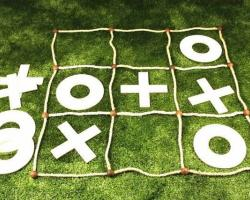 Giant X's and O's
